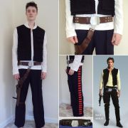 Han Solos Classic Costume set - Star Wars (A New Hope)